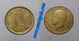 Espanha KM#806ES80o - 1 PESETA 1980
