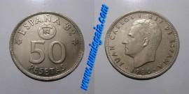 Espanha KM#819ES82 - 50 PESETAS 1982