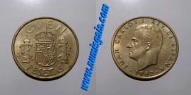 Espanha KM#826ES82h - 100 PESETAS 1982
