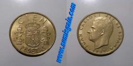 Espanha KM#826ES83e - 100 PESETAS 1983
