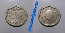 Espanha KM#829ES86 - 200 PESETAS 1986