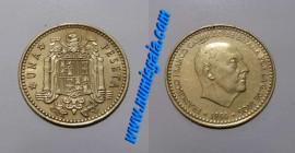 Espanha KM#796ES72k - 1 PESETA 1972