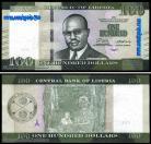 Libéria - 100 DOLLARS 2016