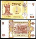 Moldova - 1 LEU 2005