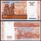 Madagascar MDG500=2500(2004)c - 500 ARIARY = 2500 FRANCS 2004
