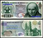 Mexico MEX10(1977)d - 10 PESOS 1977