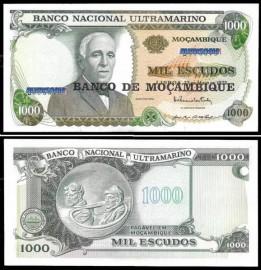 Moçambique - 1000 ESCUDOS 1972