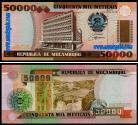 Moçambique - 50000 METICAIS 1993