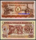 Moçambique - 50 METICAIS 1980