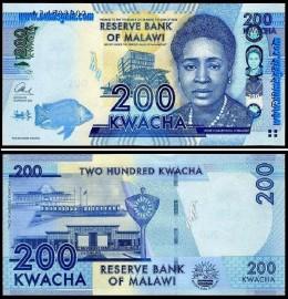 Malawi MWI200(2013)c - 200 KWACHA 2013