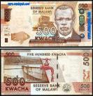 Malawi MWI500(2014)d - 500 KWACHA 2014
