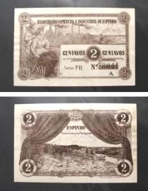 Portugal cédula MA827(b) - 2 CENTAVOS Associacao Comercial Industrial ESPINHO
