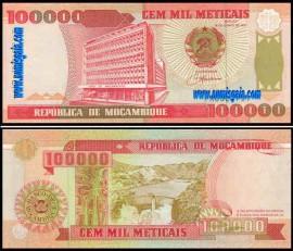 Moçambique MOZ100000(1993)e - 100000 METICAIS 1993