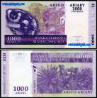Madagascar - 1000 ARIARY = 5000 FRANCS 2004