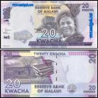 Malawi - 20 KWACHA 2019