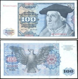 Alemanha DEU100(1970) - 100 MARK 1970 - NE4257842S