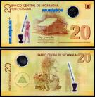 Nicarágua - 20 CORDOBAS 2007