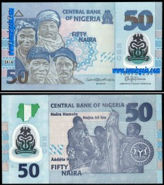 Nigéria NGA50(2016)f - 50 NAIRA 2016