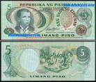 Philippines PHL5(1978ND)l - 5 PESOS (1978ND)