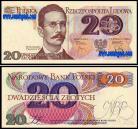 Polónia - 20 ZLOTYCH 1982