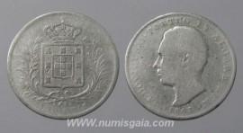 Portugal Luís89a - 500 REIS 1863  D. LUÍS I