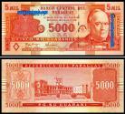 Paraguay - 5000 GUARANIES 2005