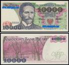 Polónia - 10000 ZLOTYCH 1988