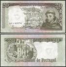 Portugal BP063(BPJ43576) Chapa7 - 20 ESCUDOS 26 Maio 1964 Santo António (verde)