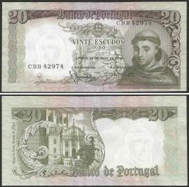Portugal BP063(CBB42974) Chapa7 - 20 ESCUDOS 26 Maio 1964 Santo António (verde)