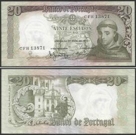 Portugal BP063(CFH13871) Chapa7 - 20 ESCUDOS 26 Maio 1964 Santo António (verde)