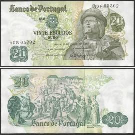 Portugal BP064(AGR65302) Chapa8 - 20 ESCUDOS 27 Julho 1971 Garcia de Orta