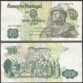 Portugal BP064(SX20579) Chapa8 - 20 ESCUDOS 27 Julho 1971 Garcia de Orta