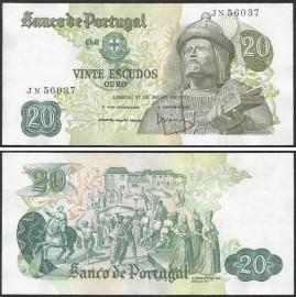 Portugal BP064(JN56037) Chapa8 - 20 ESCUDOS 27 Julho 1971 Garcia de Orta