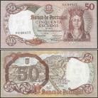 Portugal BP084(NB89477) Chapa8 - 50 ESCUDOS 28 Fevereiro 1964 Rainha Santa Isabel