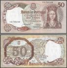 Portugal BP084(UB70180) Chapa8 - 50 ESCUDOS 28 Fevereiro 1964 Rainha Santa Isabel