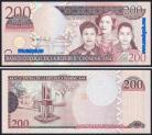 República Dominicana - 200 PESOS 2007