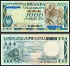 Rwanda RWA1000(1988)a - 1000 FRANCS 1988