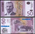 Sérvia - 50 DINARA 2005