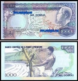 S.Tomé e Príncipe STP1000(1993)a - 1000 DOBRAS 1993