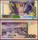 S.Tomé e Príncipe - 5000 DOBRAS 2004