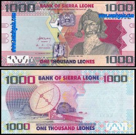 Serra Leoa - 1000 LEONES 2013