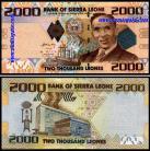Serra Leoa - 2000 LEONES 2010
