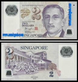 Singapura - 2 DOLLARS 2017ND