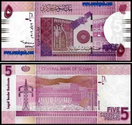 Sudão SDN5(2006)d- 5 PONDS 2006
