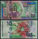 Suriname - 10 GULDEN 2000