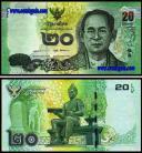 Thailand THA10(2013)d - 10 BAHT 2013