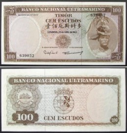 Timor - 100 ESCUDOS 1963