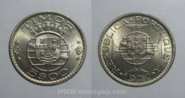Timor KM#21TP70n - 5 ESCUDOS 1970
