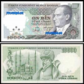 Turquia TUR10000(1989)b - 10000 LIRA (1989ND)