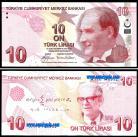 Turquia - 10 LIRASI 2009